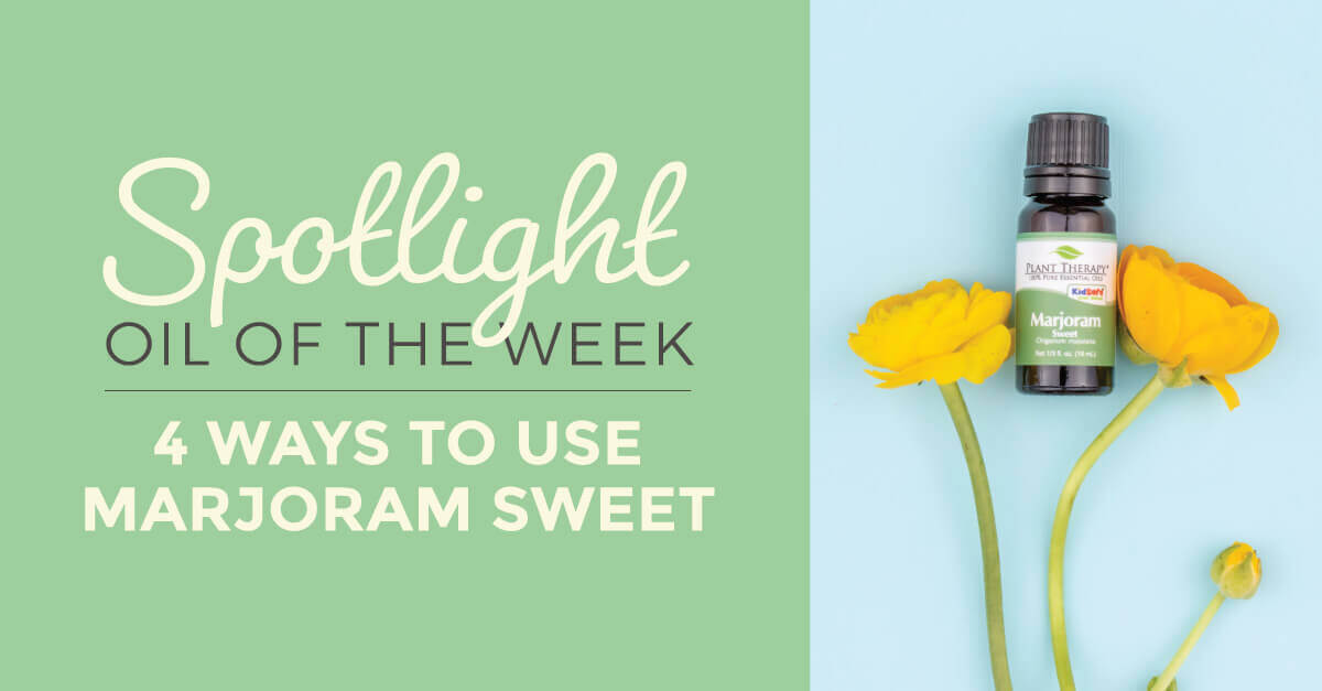 4 Ways to Use Sweet Marjoram: Our Essential Oil Spotlight of the Week