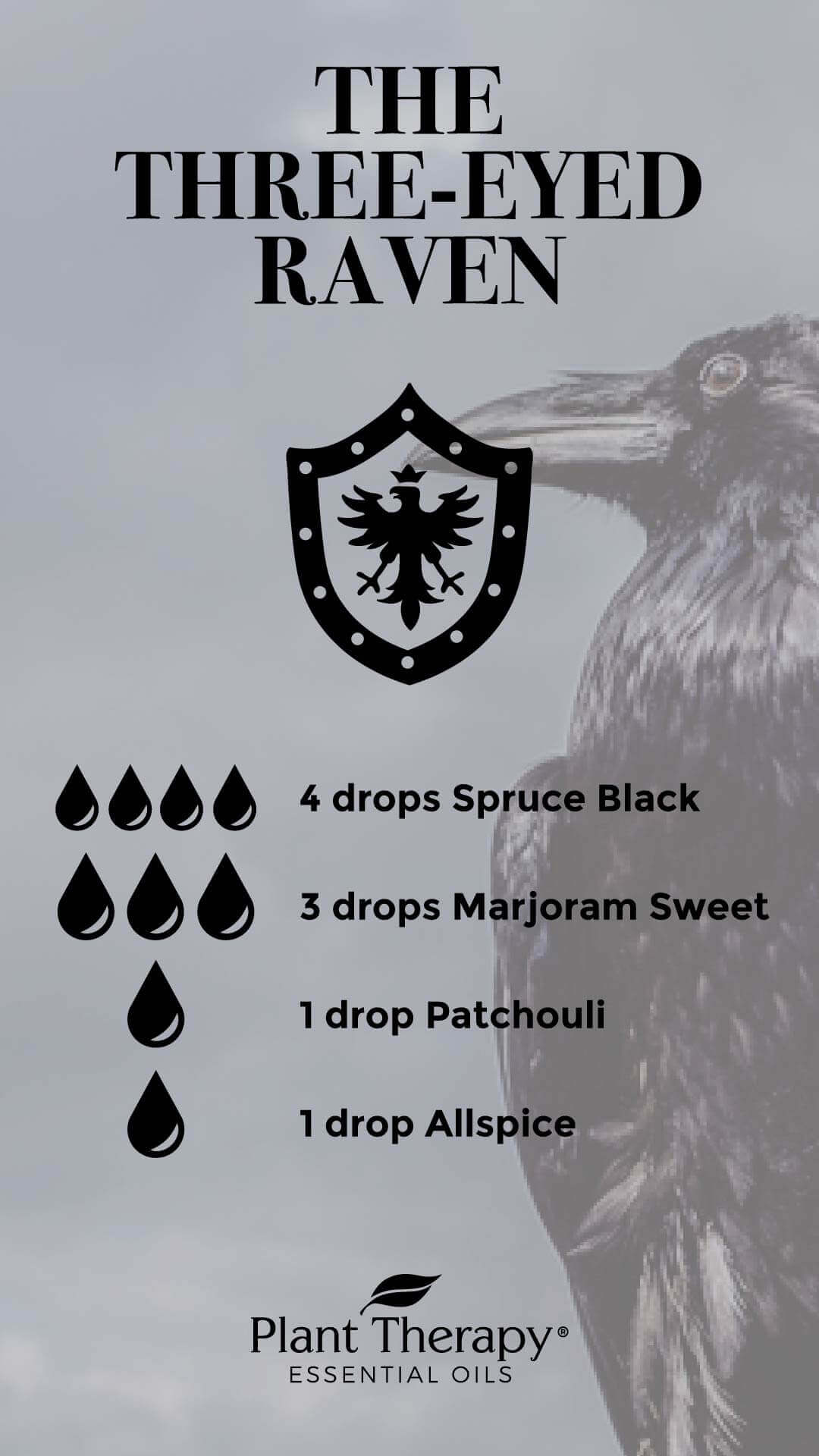Game of Thrones Three Eyed Raven Diffuser Blend