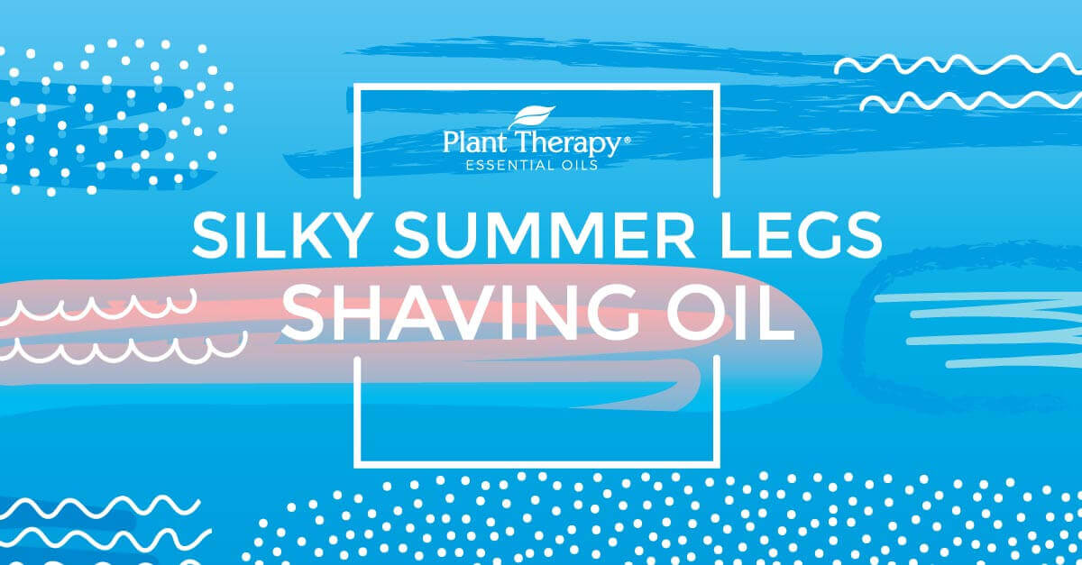 DIY All Natural Shaving Oil for Silky, Summer-Ready Legs