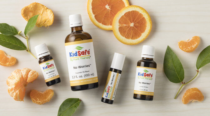 Say Hello to No Worries, Our Newest KidSafe Blend
