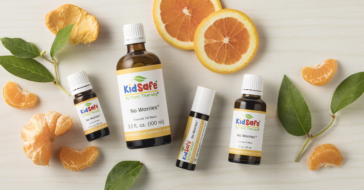 No Worries, Our Newest KidSafe Blend