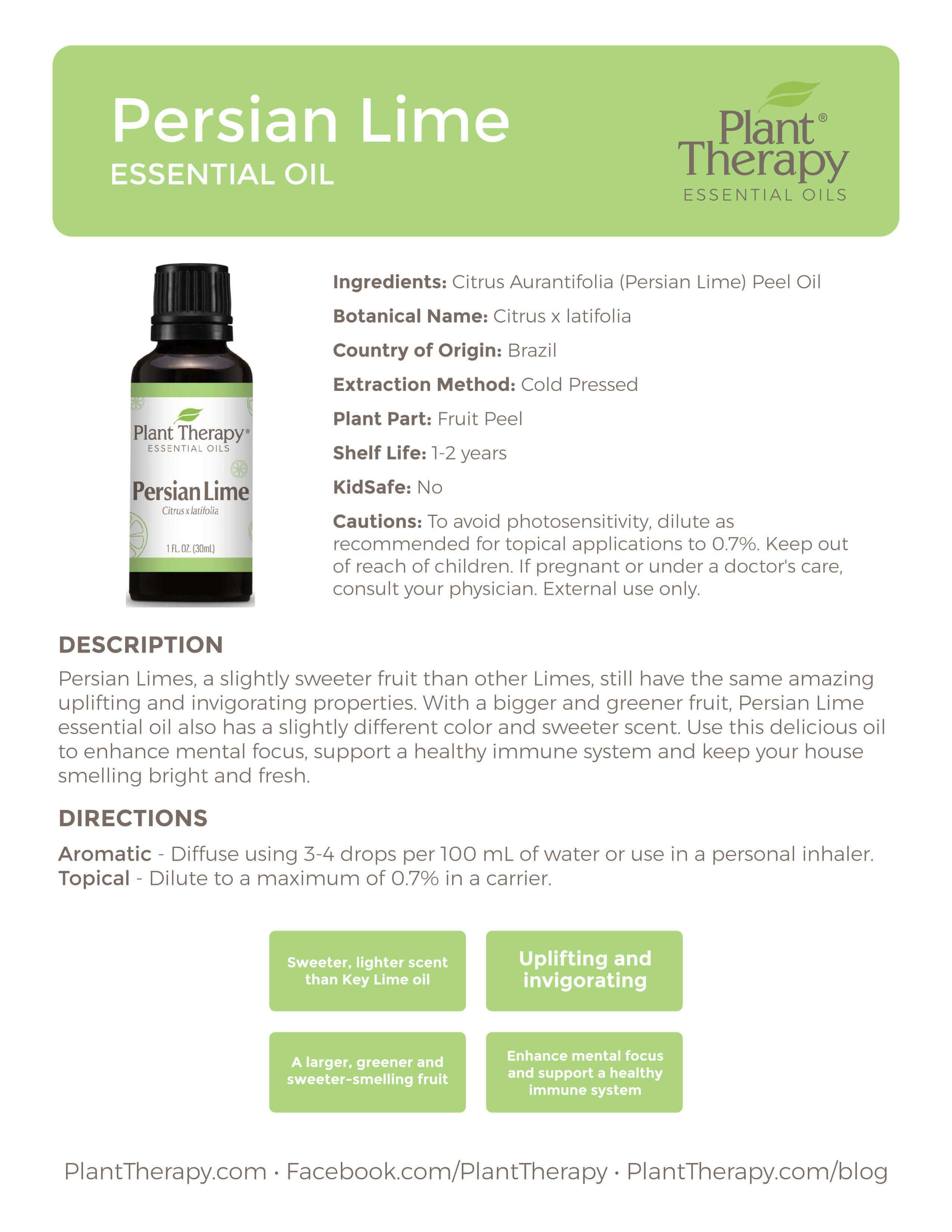 Persian Lime essential oil