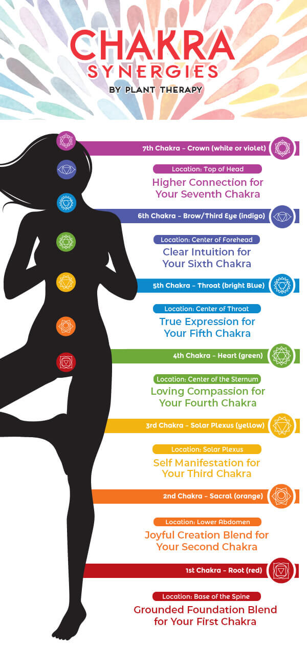 Plant Therapy chakra blends essential oils