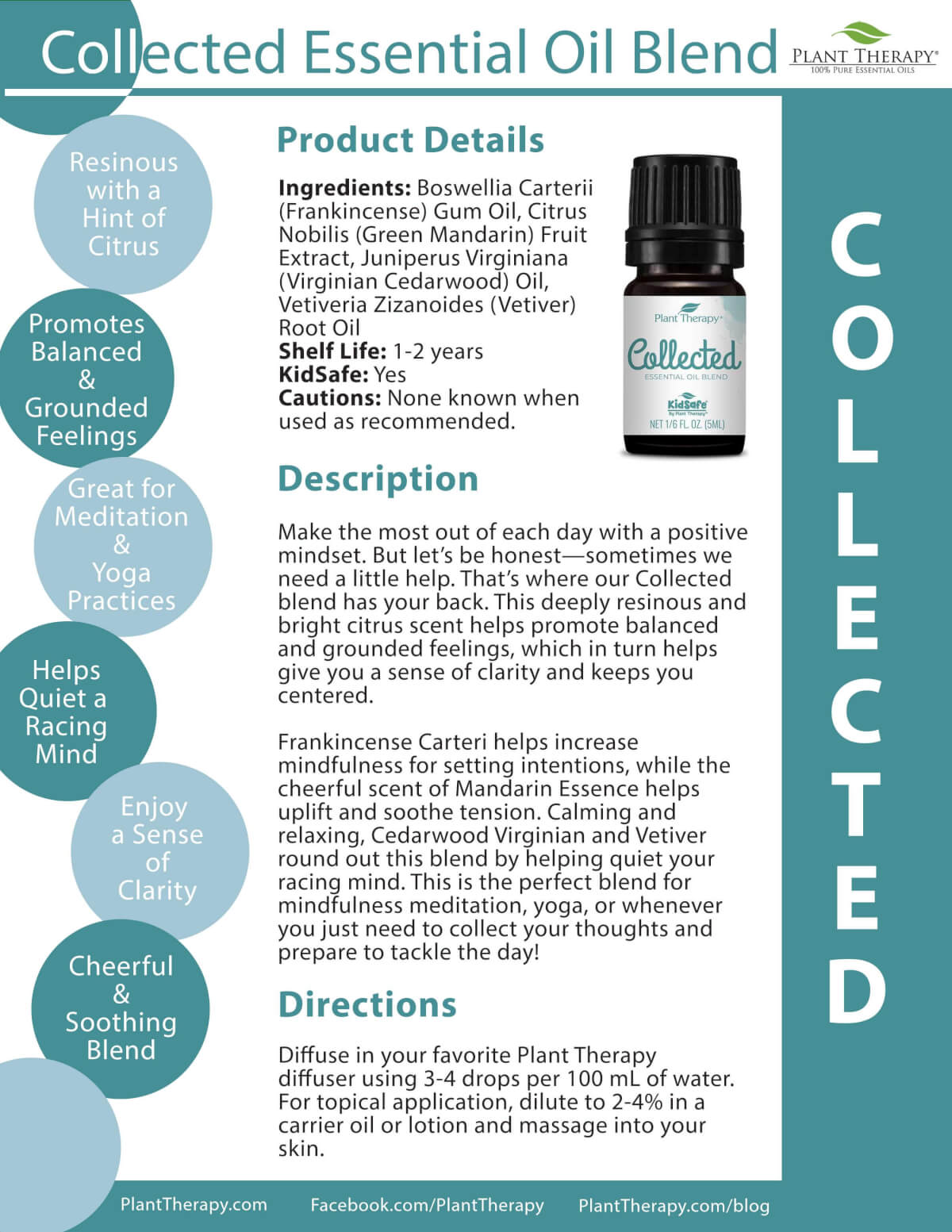 Collected Essential Oils Blends