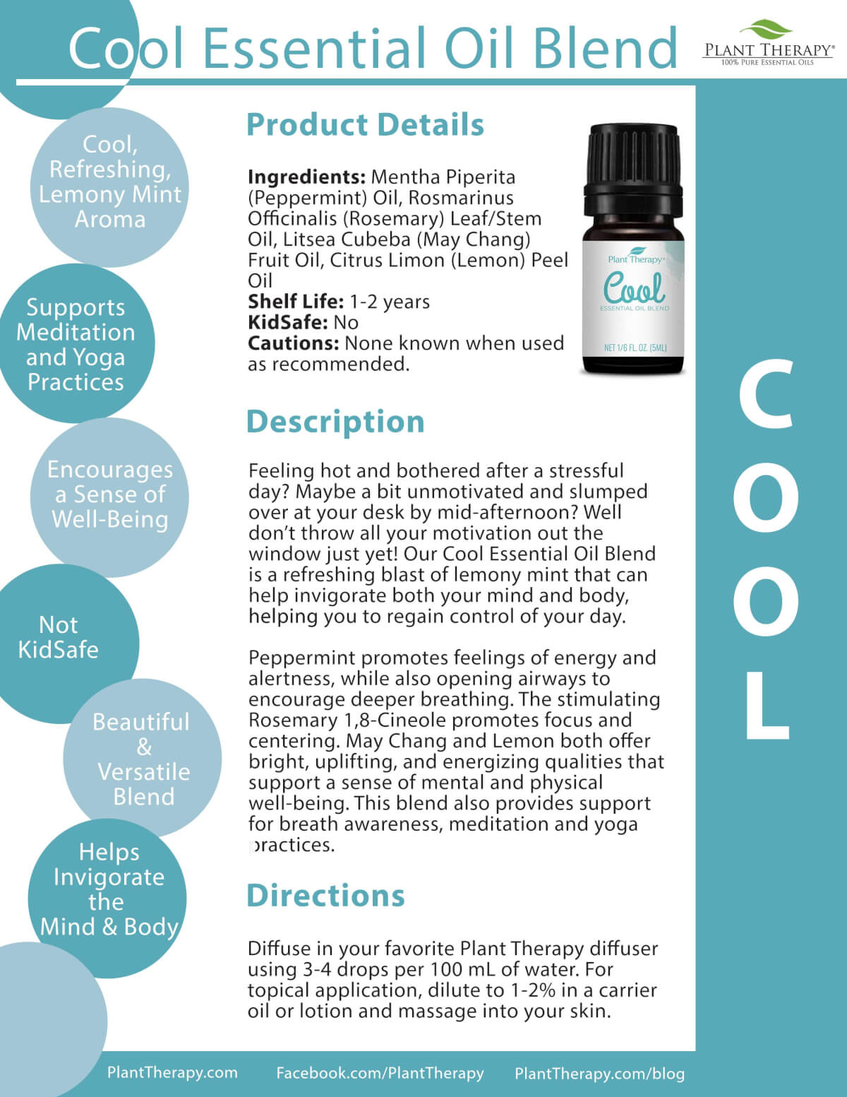 Cool Essential Oil Blend