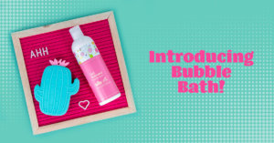 Introducing Get Relaxed Bubble Bath + 4 Tips for the Most Relaxing Bath Ever