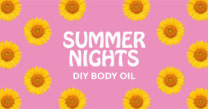 spa night essential oil DIY