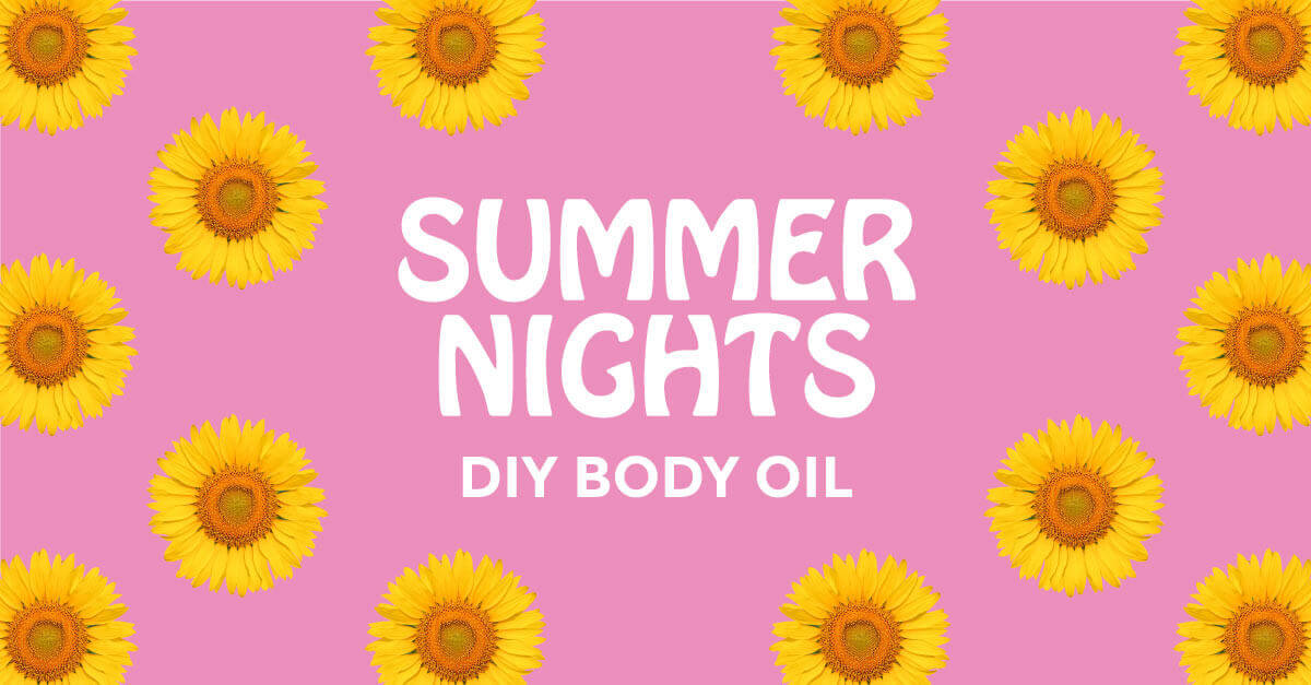 Summer Nights Body Oil DIY