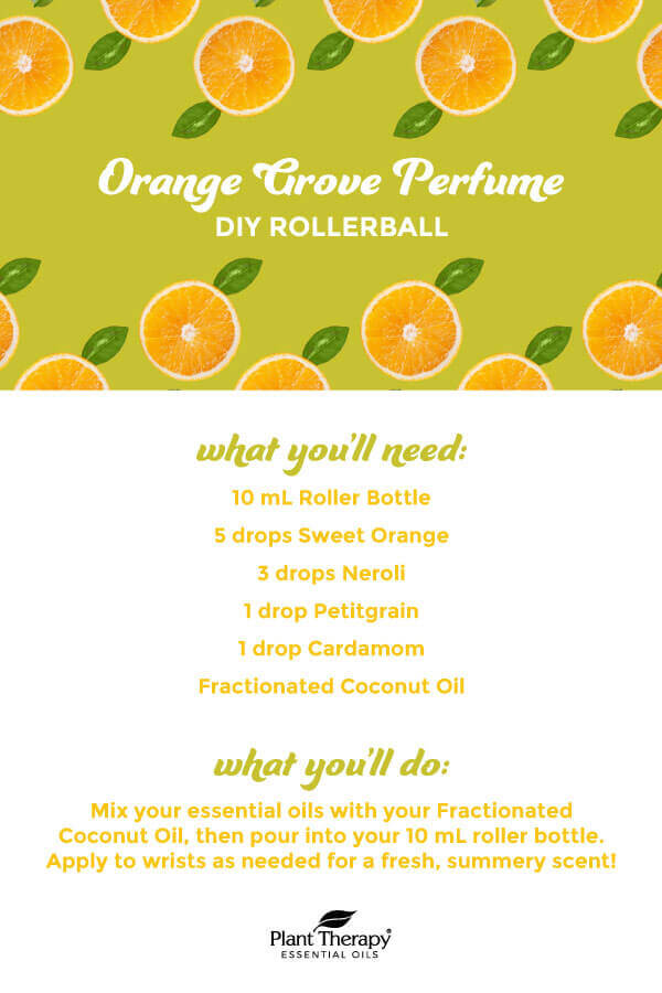 Orange Grove Perfume Rollerball DIY