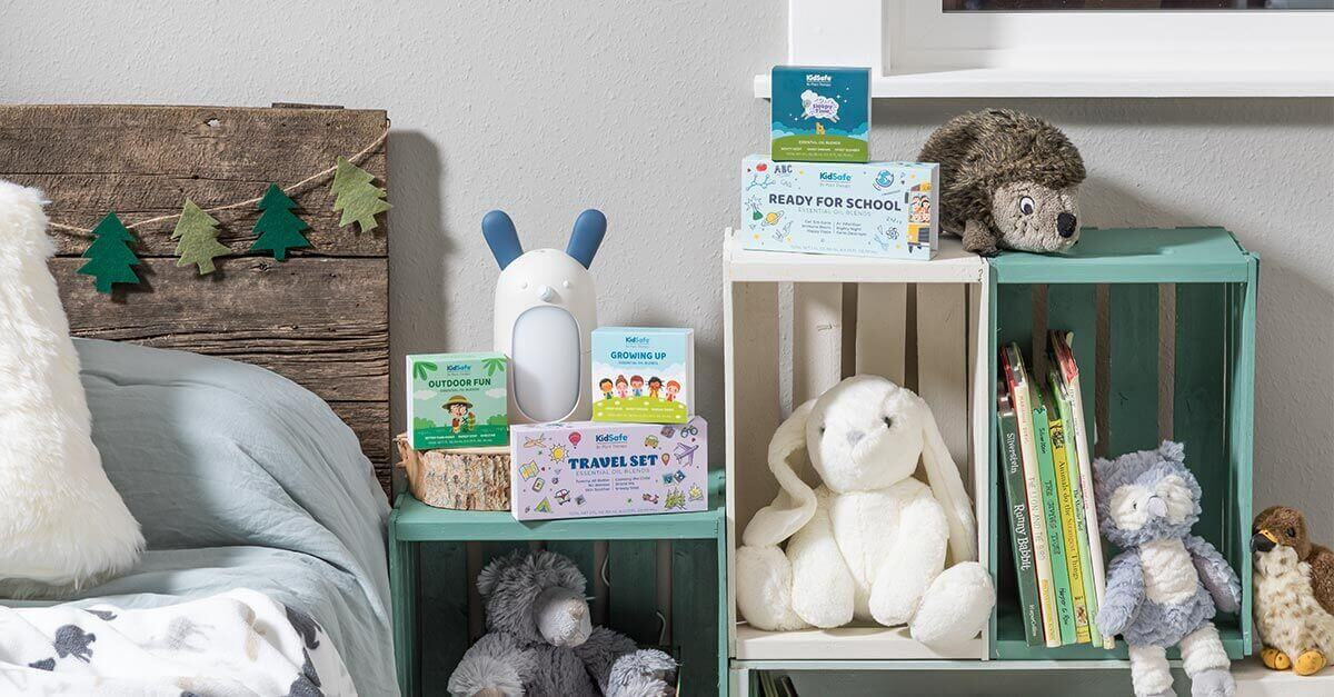 Forest Friends Diffuser with KidSafe Sets