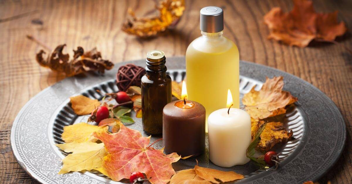 Aromatherapy for fall
