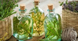 When we talk about infusions, we are not talking about adding a few drops of essential oil. Instead, we're talking about the addition of other plant materials and herbs into the carrier oil by means of, you said it, infusion.