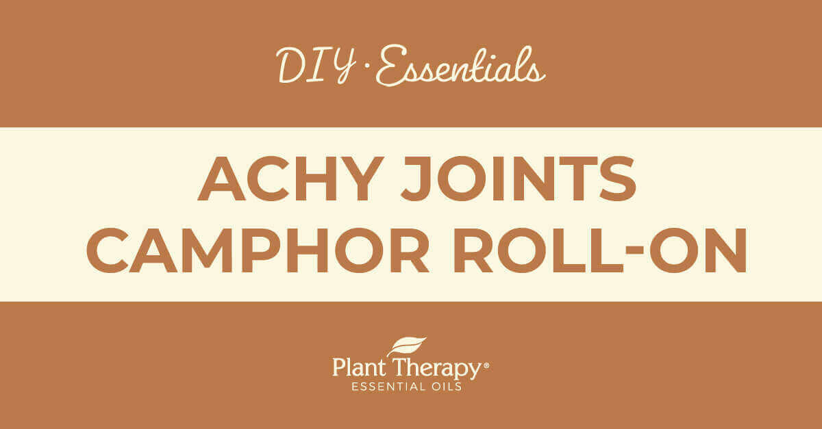 Achy Joints Camphor Roll-On DIY