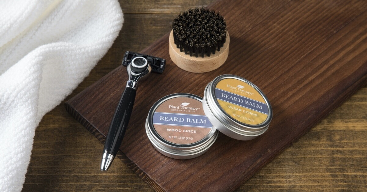 Plant Therapy Beard Balms and Beard Brush