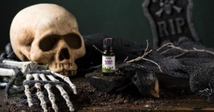 Spooky Halloween Blends and Zombie Blood Hand Sanitizer