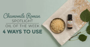 Top 4 Ways to Use Chamomile Roman: Our Essential Oil Spotlight of the Week