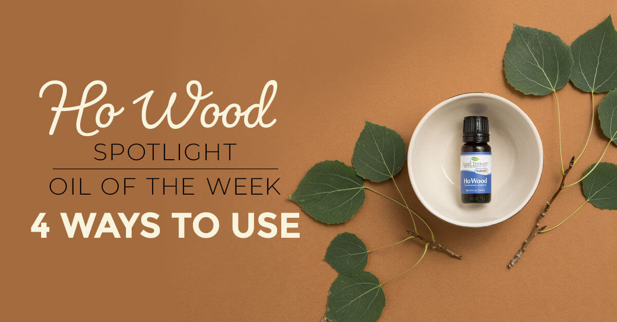 Top 4 Ways to Use Ho Wood: Our Essential Oil Spotlight of the Week
