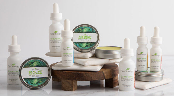 CBD Plant Therapy tinctures and balm