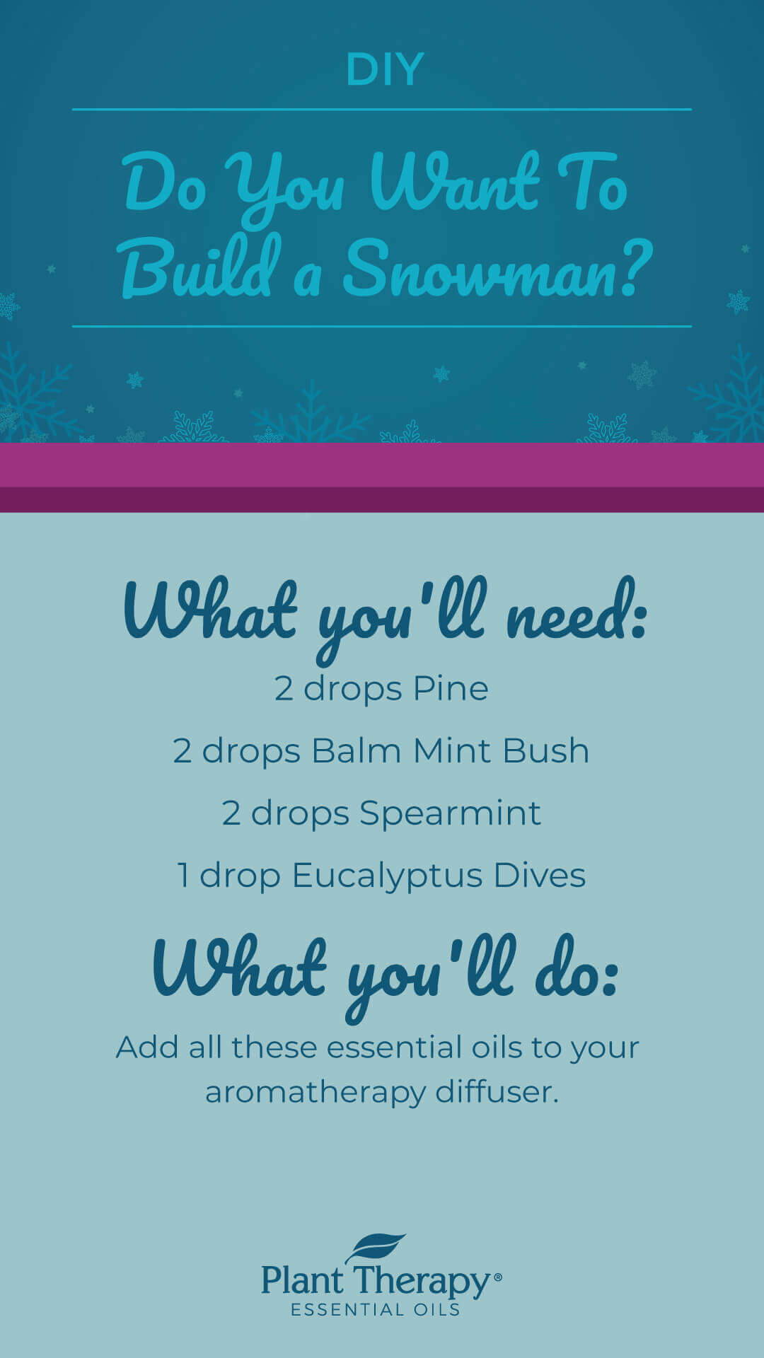 3 Frozen Inspired Blends to Set The Mood for Frozen 2