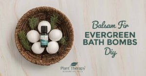 Balsam Fir Evergreen Bath Bombs DIY