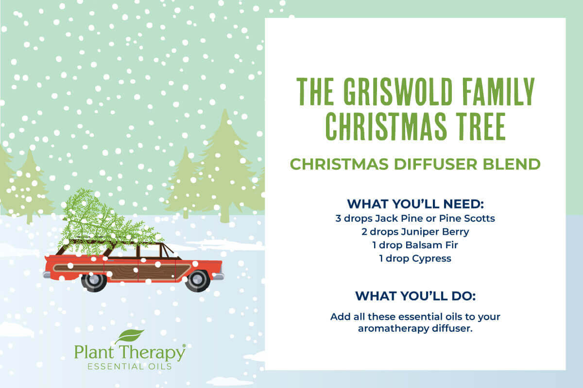 Griswold Family Christmas Tree Diffuser Blend