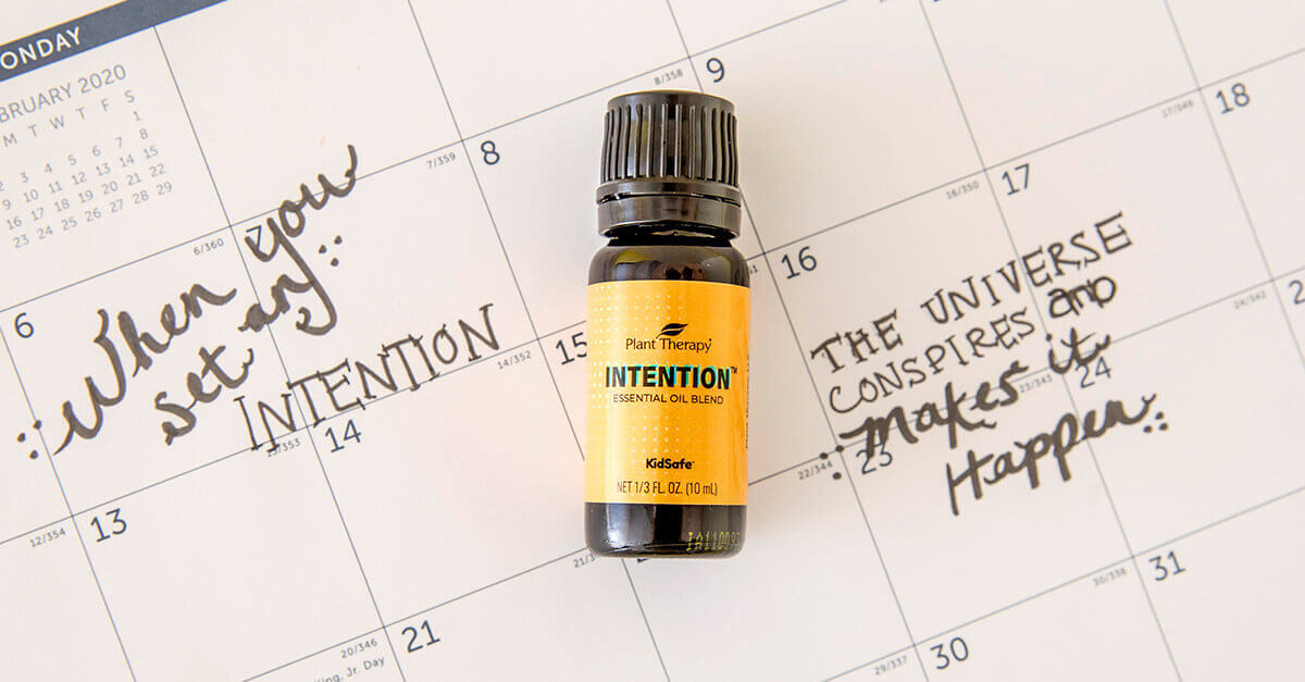 Plant Therapy Intention Essential Oil Blend