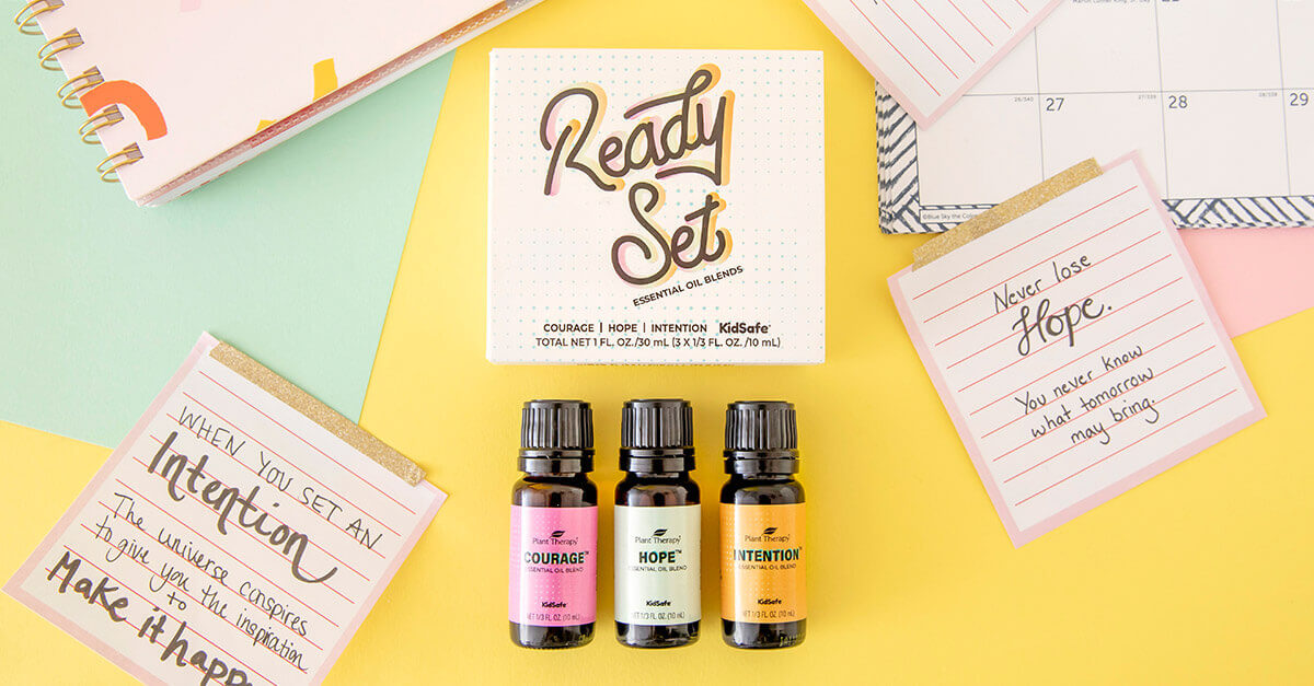 Plant Therapy Ready Set Essential Oils Blends