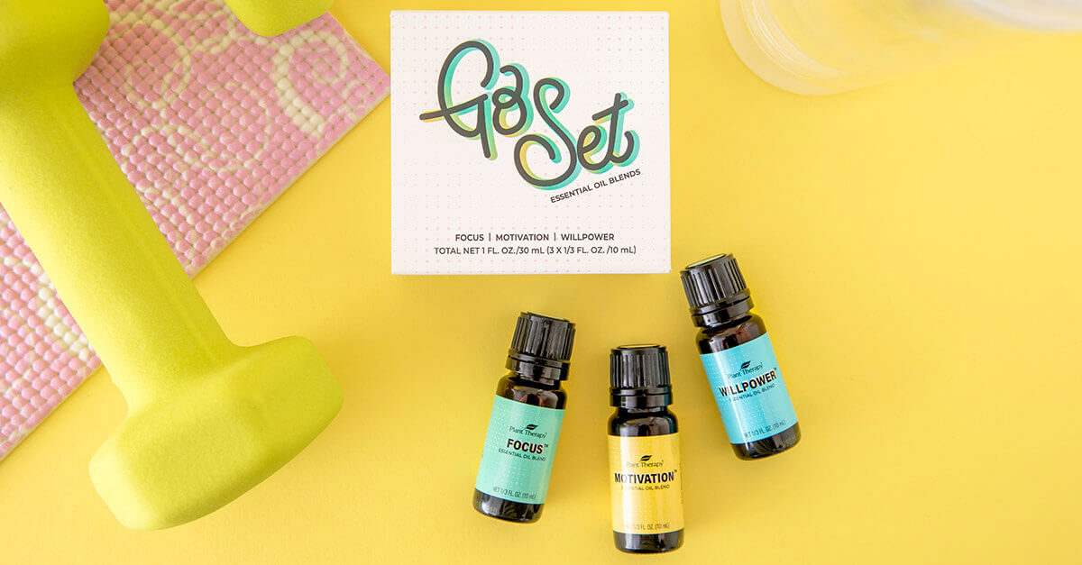 Plant Therapy Go Set essential oil blends