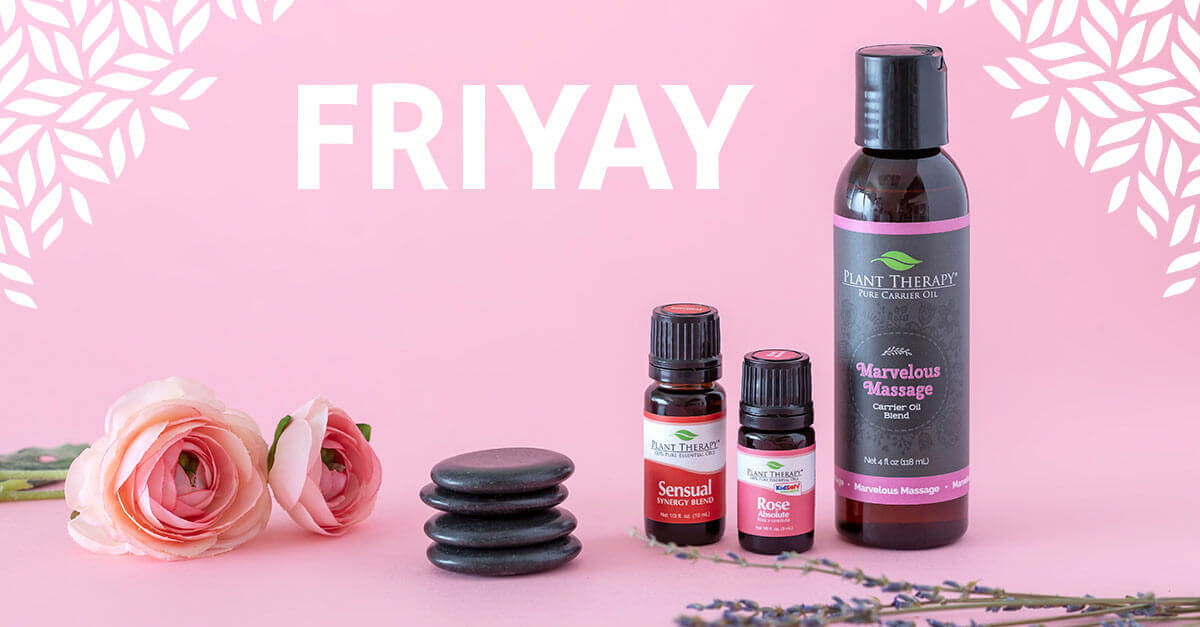 FriYAY Romance Edition: Marvelous Massage, Sensual & Rose Absolute