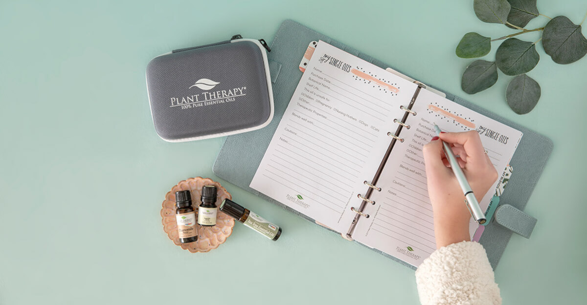Get Organized: Journaling Essential Oil Organizer
