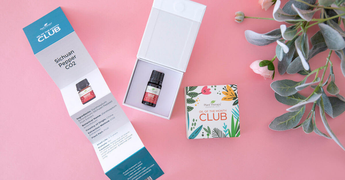 Plant Therapy Oil of the Month Club Unboxing