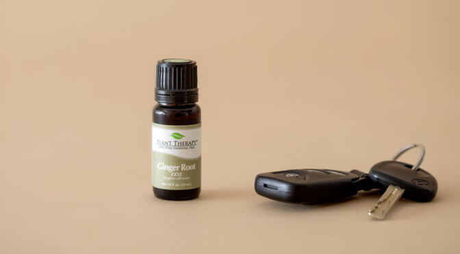 Ginger Root CO2 Extract Essential Oil
