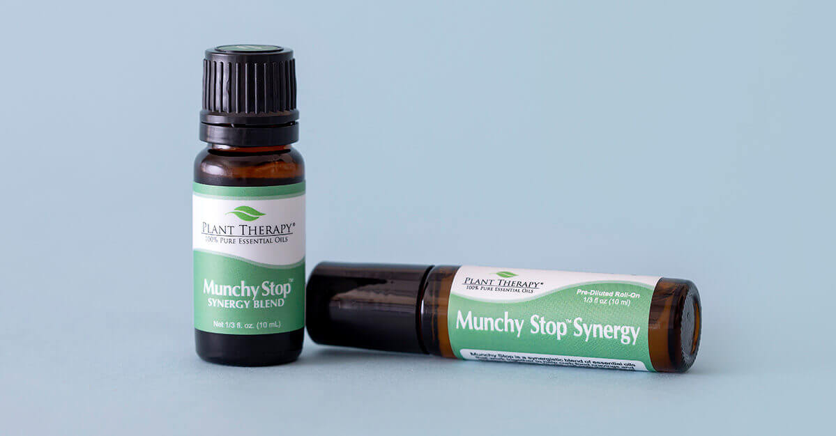 Plant Therapy Munchy Stop Essential Oil Blend and Roll-On