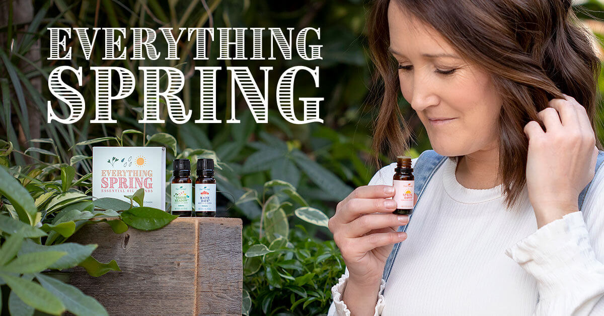 Plant Therapy Everything Spring Essential Oil Blends Set