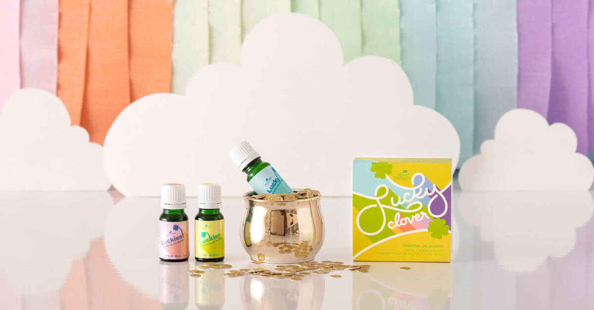 Lucky Clover Set: Essential Oil Blends by Plant Therapy