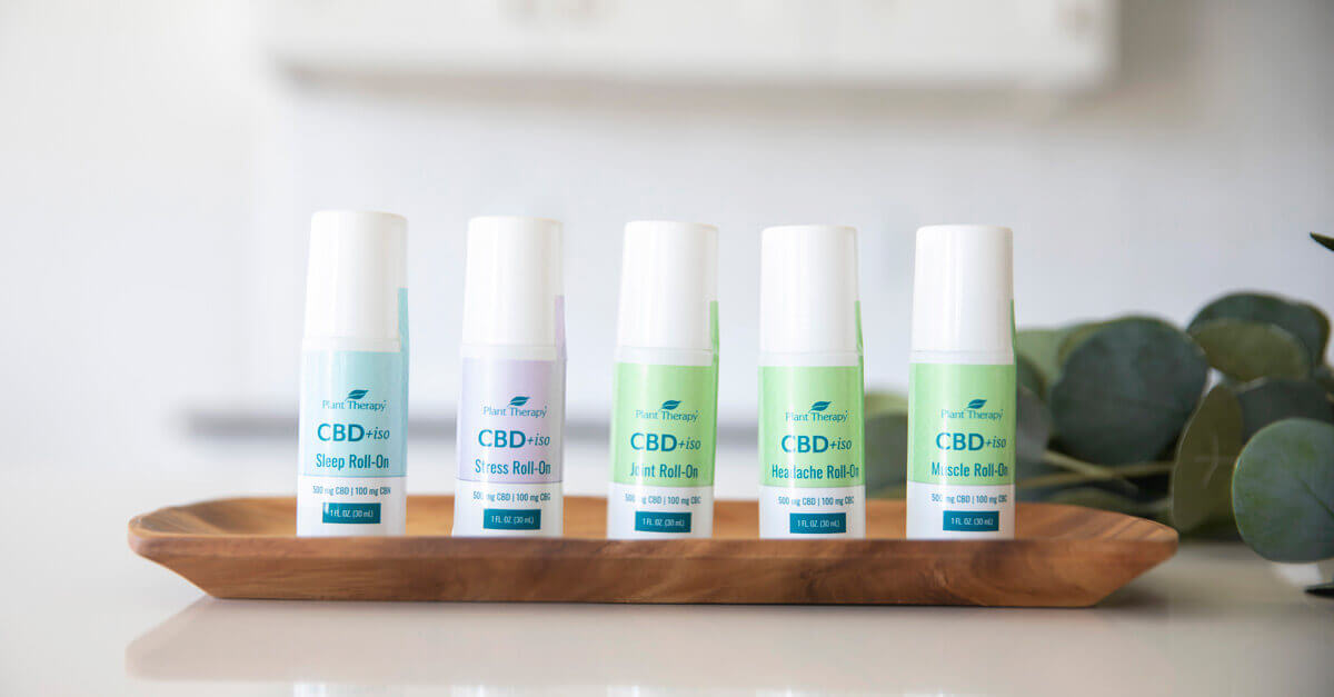 Plant Therapy CBD+iso Roll-Ons