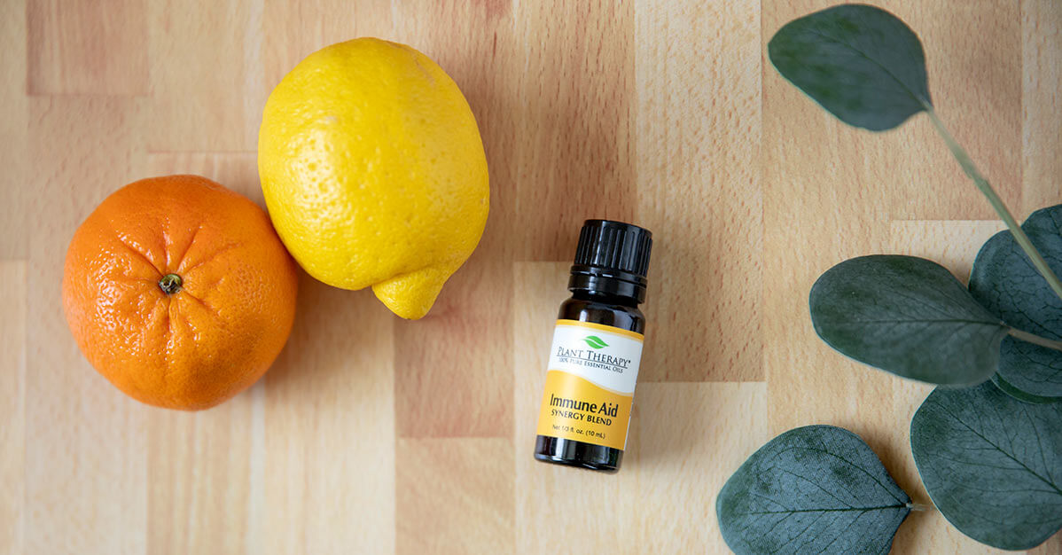 Plant Therapy immune-boosting Immune Aid Essential Oil Blend