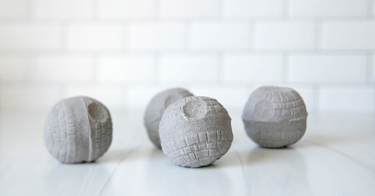 Death Star Bath Bomb