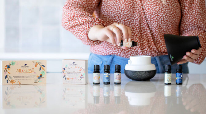Three Fall-Tastic DIYs for Our All the Fall Essential Oil Blends