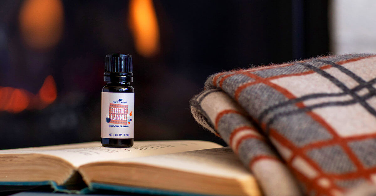Bottle of Fireside Flannel Essential Oil