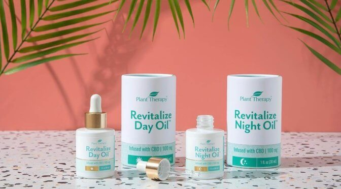 Plant Therapy Revitalize Day and Night Oils