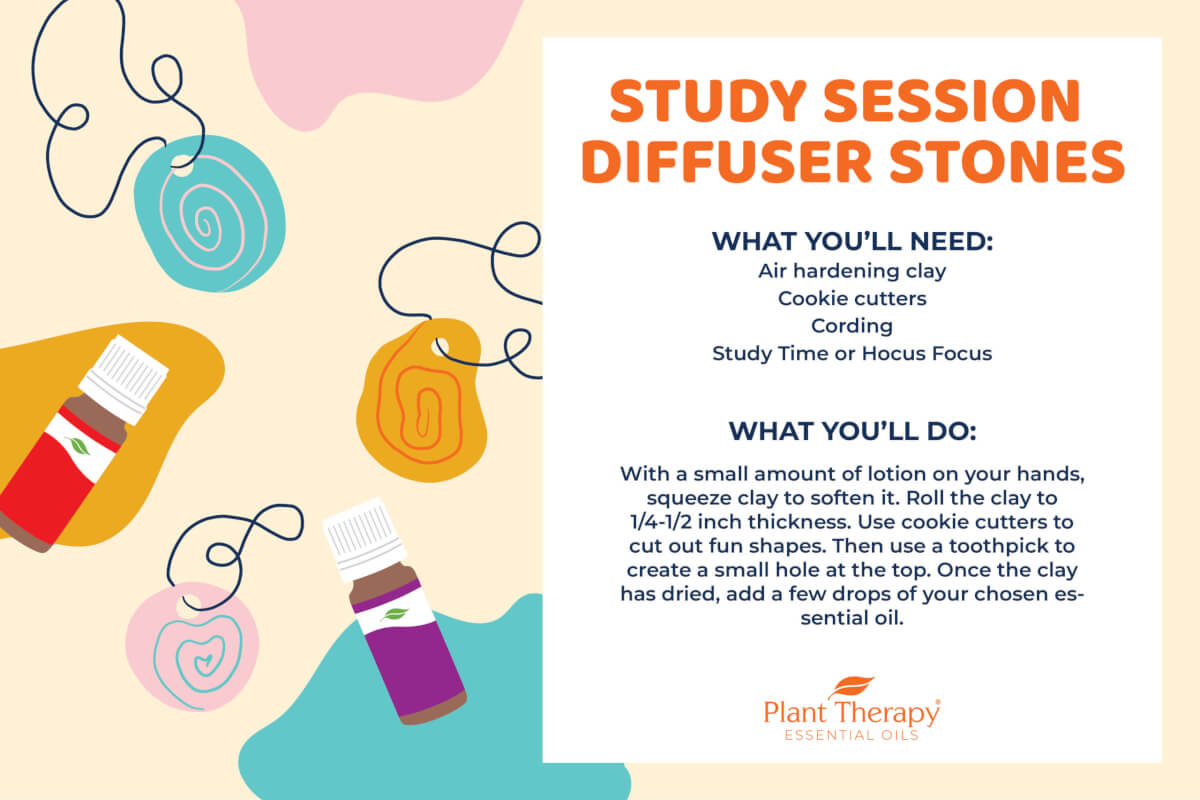 Study Session Diffuser Stones DIY