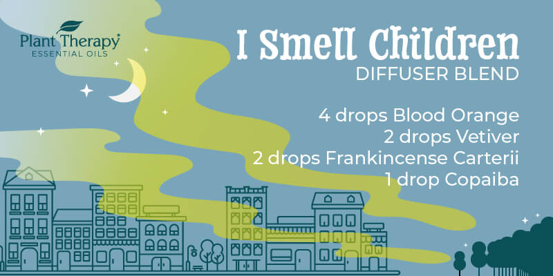 I Smell Children Diffuser Blend graphic