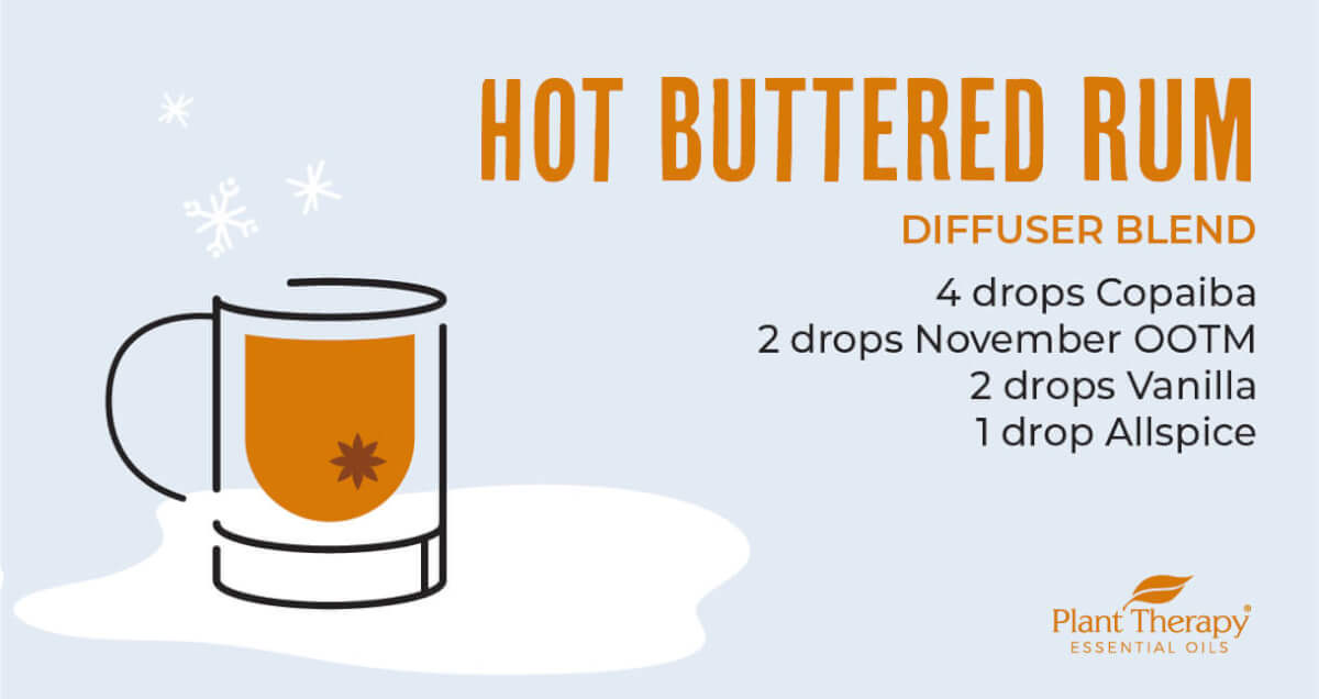 Hot Buttered Rum Diffuser Blend