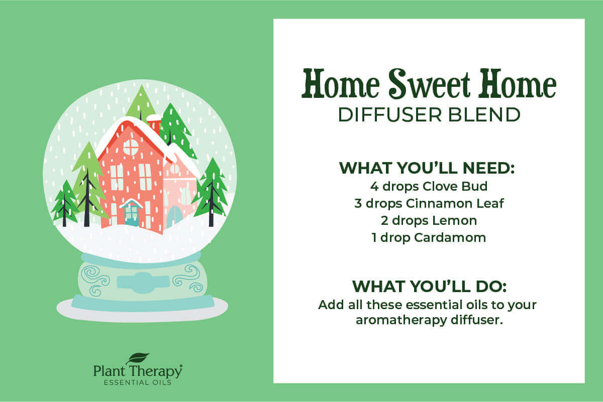 Home Sweet Home Winter Diffuser Blend