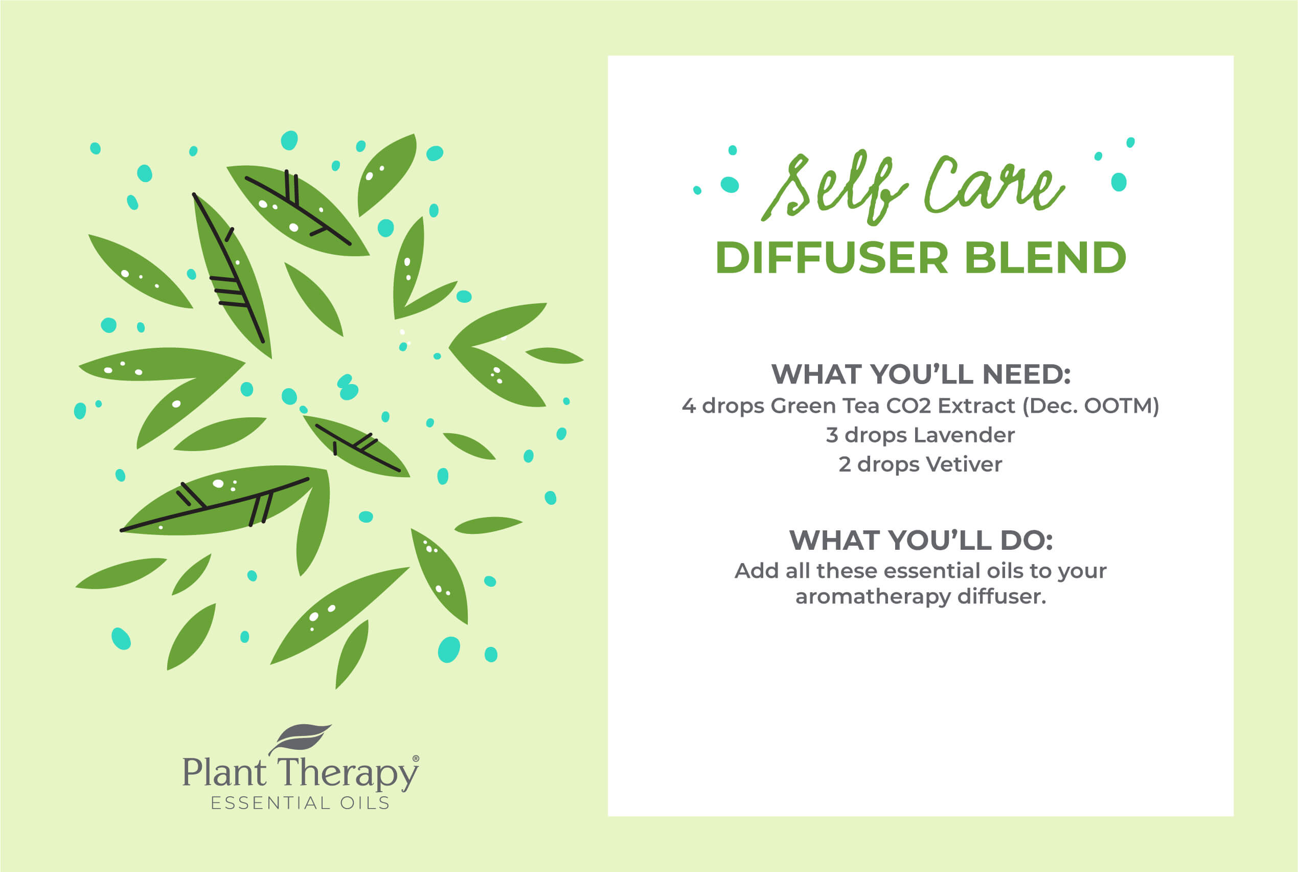 Self Care Diffuser Blend