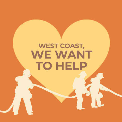 West Coast Fire Donations