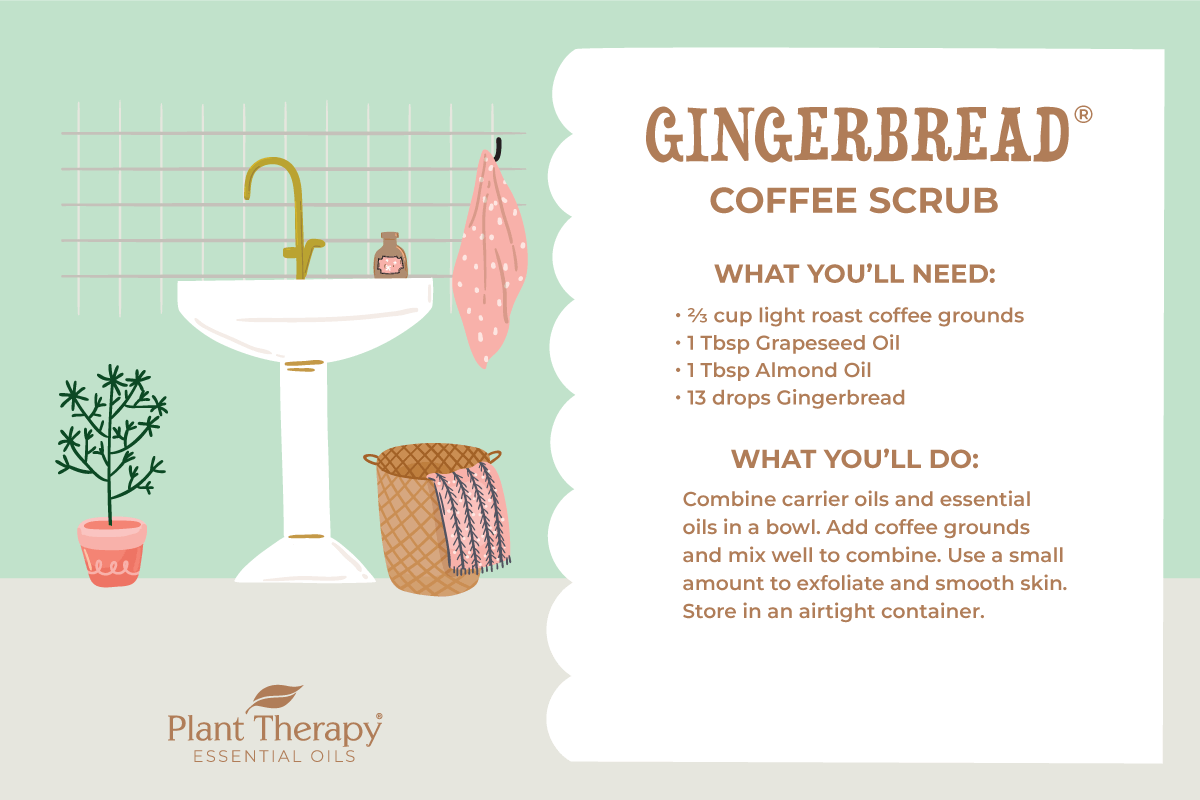 Gingerbread Coffee Scrub Instructions