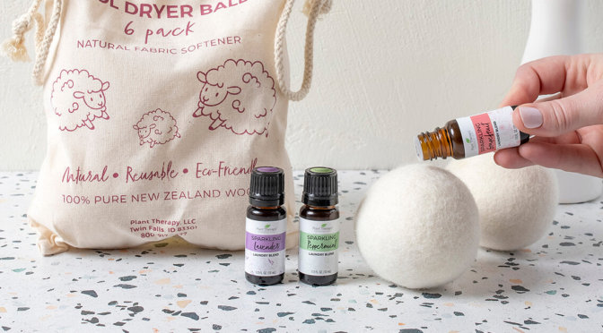 Adding Essential oils to a wool dryer ball