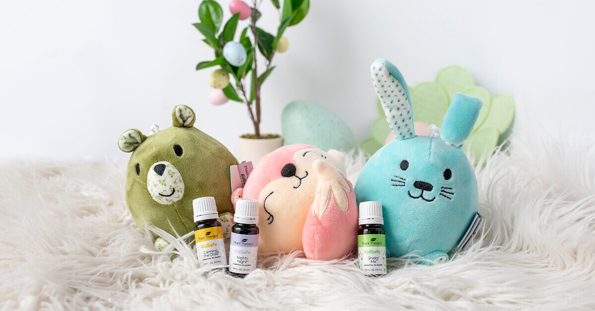 Plant Therapy's AromaPlush with KidSafe oils